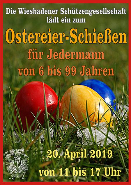 Einladung zum Osterschießen 2019
